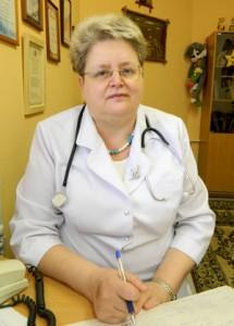 Заведующая отделением Стрекалова Светлана Абрамовна