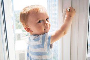 Выпадение детей из окна
